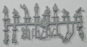 Strelets 1/72 Scale - Africa Corps Mortar Squad - Contains 1 Sprue - 280