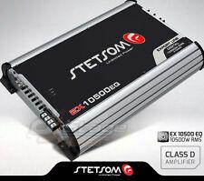 Stetsom Amplifier EX10500 EQ 11600 Watts RMS 2 ohms Digital Amp Built-In EQ 10K
