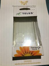 Telus Branded Gelskin For Samsung Note 5 - Clear