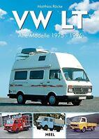 VW LT Alle Modelle 1975–96 Typen Baureihen Transporter Wohnmobile Buch Book