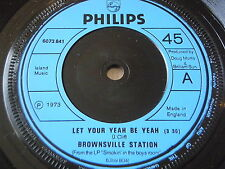 """BROWNSVILLE STATION - LET YOUR YEAH BE YEAH     7"""" VINYL"""