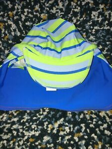 Miniclub Baby Boys Blue Stripe Legionnaires Sun Hat 6-12 Months