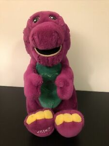 Barney Plush 1997 Large - Special Edition 'I Love You'
