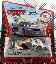Disney Cars 2 Kmart K-Days 9 Silver Racer Series Metallic Finish Max Schnell