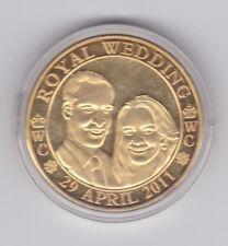 2011 Royal Wedding Medallion Prince William Kate Middleton Westminster Abbey