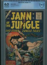 JANN OF THE JUNGLE #11 SOLID GRADE CBCS COVER JOE MANEELY STORIES DON RICO HECK