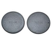 JJC L-R17 Body Cap and Rear Lens Cap for SAMSUNG NX-MINI Mount Lens and Camera