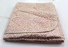 Hand Block Print quilt Kantha baby Quilt Baby New Design Kanth Throw Blanket S40