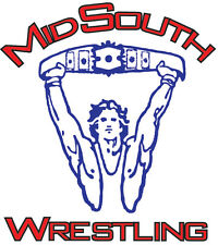 Mid-South Wrestling DVD Set Volumes # 52- 56 !     5 DVD's in the set!!!