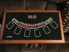 Harvard 5 In 1 Casino Gaming Table