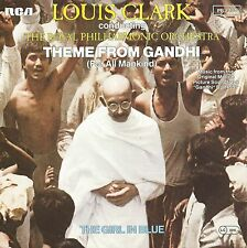 "Louis Clark - Theme From Gandhi Soundtrack + Product Facts (7"" RCA Single 1982)"