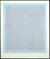 Farbraum, 1970. Grosse Serigraphie von Bernd BERNER (1930-2002 D), handsigniert