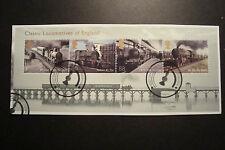 GB 2011 Commemorative Stamps~Locomotives~M/S ~Fine Used Set~On Piece~UK Seller