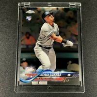 GLEYBER TORRES 2018 TOPPS CHROME #HMT80 ROOKIE CARD RC NEW YORK YANKEES MLB