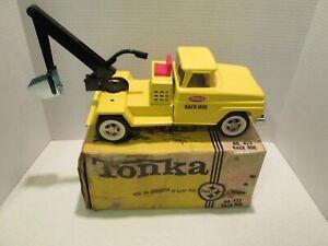 TONKA BACK HOE #422  ** ORIIGNAL BOX  ** MINTY - MINT
