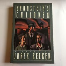Bronsteins Children's by Jurek Becker. First Edition Hardback 1988. Very Good