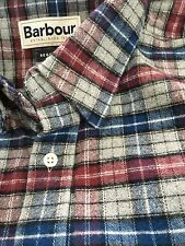 BARBOUR Chamois Flannel Shirt - US Small/UK Medium Rare