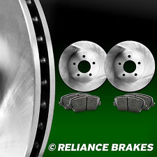 [FRONT KIT] Reliance *OE REPLACEMENT* Disc Brake Rotors *Plus Ceramic Pads F2936