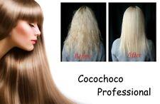 Cocochoco Brazilian Keratin Blow Dry Hair Treatment Sample 30ml Kit w/ Shampoo
