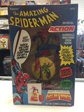 Vintage The AMAZING SPIDER_MAN Gumball Machine Coin Bank