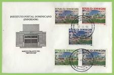 More details for dominican republic 1993 postal institute building set on first day cover