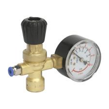 Sealey MIG Gas Regulator Disposable Cylinder 1 Gauge CO2 Argon 110 bar ISO 2503