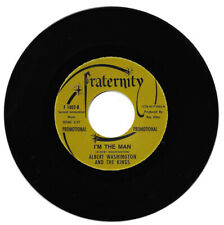 Albert Washington I'm The Man/These Arms Of Mine Northern Soul Reissue