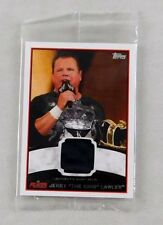 Jerry The King Lawler WWE Wrestling Trading Card Topps WWF Ring Worn Shirt Relic