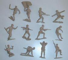 """Marx Toys PL-1199 """"WWII Japanese Infantry (Tan)"""" 54mm Plastic Toy Soldiers"""