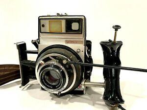 Graflex XL Camera W/ Rodenstock-Heligon 80mm f/2.8 Lens and Synchro-Compur READ