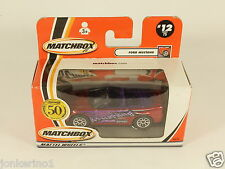 [OF3-86] MATCHBOX 50 YEARS 1952-2002 #12 FORD MUSTANG 95814 MATTEL WHEELS MIB