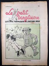 """Le petit """"vingtième"""" n° 4  Janvier 1937 TBE"""