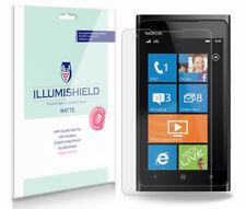 iLLumiShield Matte Screen Protector w Anti-Glare/Print 3x for Nokia Lumia 900