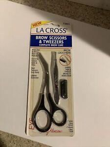Sally Hansen La Cross Brow Scissors & Tweezers Completed Brow Care 73865 VIN