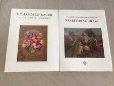 [ORIENTALISME]2 LIVRES/Nasreddine Dinet + MOHAMMED RICIM/MINIATURISTE ALGERIE