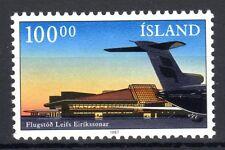 Iceland - 1987 New airport terminal - Mi. 664 MNH
