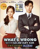 WHAT'S WRONG WITH SECRETARY KIM - COMPLETE KOREAN TV SERIES DVD ( 1-16 EPS)