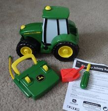"""TOMY John Deere """"Fix It Up Johnny"""" Radio Control tractor-HAS SOUNDS, NOT MOVING"""