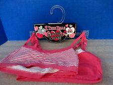 Sweet & Sassy~Pink Striped & Solid Pink TEEN BRAS~Girls Size Small (30)~NWT