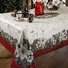 Christmas Tablecloth Xmas Table Decorations Cover Holiday Home Decor 60 x 120''