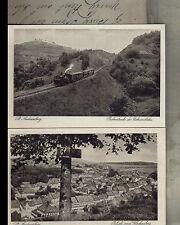 Zwischenkriegszeit (1918-39) Normalformat Ansichtskarten aus Deutschland für Architektur/Bauwerk und Eisenbahn & Bahnhof