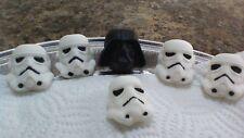 12 Edible Star Wars Cupcake Toppers Darth Vader Stormtroopers
