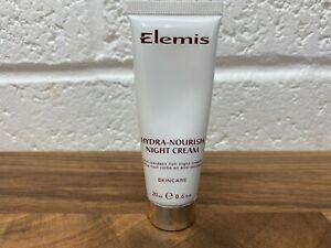 Elemis Hydra-Nourish Night Cream with Hyaluronic Acid 20ml New + Sealed