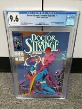 1988 Marvel Comics DOCTOR STRANGE Sorcerer Supreme #1 The Avengers CGC 9.6