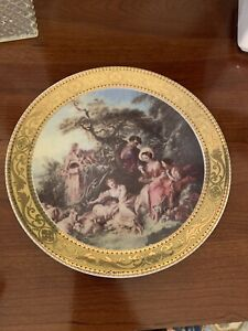 Dal 1969 Depos Decorazioni Exlusive T. Limoges Made In Italy Plate
