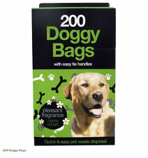 Doggy Bags Scented Pet Pooper Scooper Bag Dog Cat Poo Waste Toilet Poop
