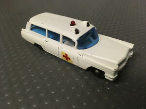 Matchbox Lesney 1965 S&S Cadillac Ambulance Vintage Diecast Car