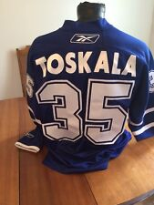 Hockey Jersey Reebok Authentic NHL Adult L Toronto Maple Leafs #35 Vesa Toskala