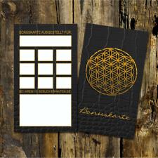 100 Kosmetik Bonuskarten, Flower Of Life, Treuekarte
