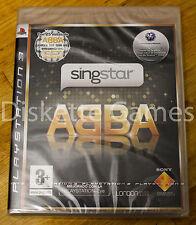 SINGSTAR ABBA - PLAYSTATION 3 PS3 PLAY STATION 3 - PAL ESPAÑA - NUEVO PRECINTADO